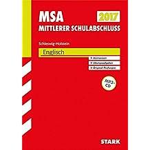 Mittlerer Schulabschluss Schleswig-Holstein - Englisch