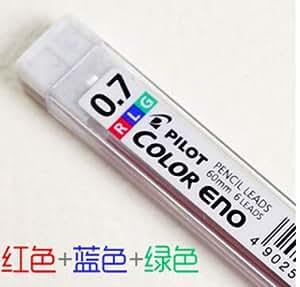 Yangfr Buntstiftminen 0,7 mm bruchfest mechanische Bleistiftminen C2