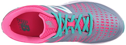 New Balance KJ775 Youth Running Shoe (Little Kid/Big Kid) Grey/Pink