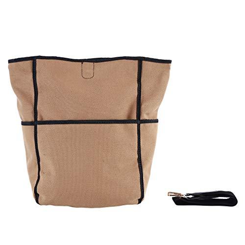 Yinew Schulter-Eimer-Tasche Große Kapazität Tot Handtasche Multifunktions-Einkaufstasche für Frauen, Khaki -