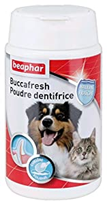 Beaphar - Buccasfresh, poudre dentifrice - hygiène bucco-dentaire - chien et chat - 75 g