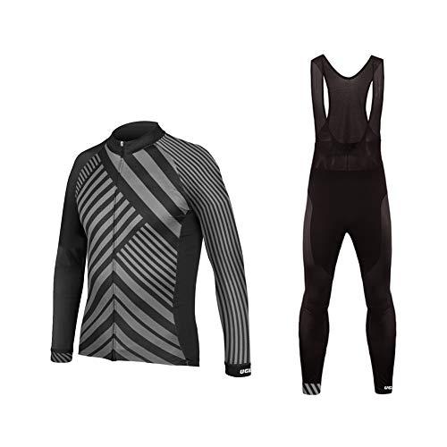 Uglyfrog abbigliamento ciclismo set abbigliamento sportivo per bicicletta maglia manica lunga+pantaloni lunghi cxmx07f