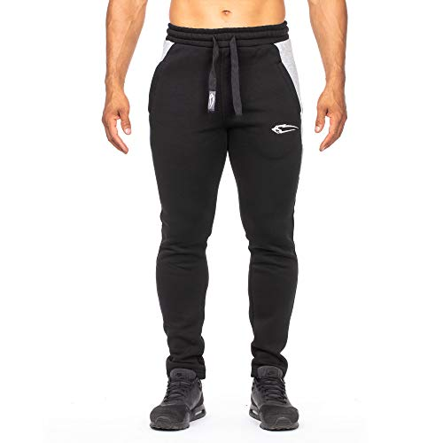 SMILODOX Slim Fit Herren Jogginghose   Dimension    Trainingshose für Sport  Fitness Gym fa2f2f9e11