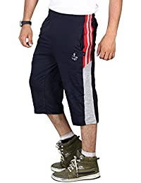 VEGO Men's Cotton 3/4 Pant