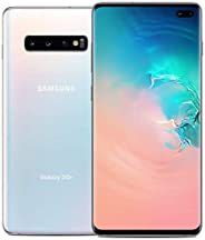 Samsung Galaxy S10+ G975F, GSM Unlocked, Single Sim Smartphone, 128GB, Prism White (Renewed)