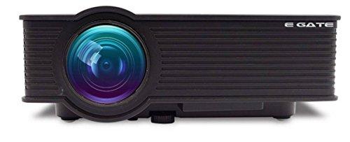 f34df41c03f58f EGATE i9 LED HD Projector (Black) HD 1920 x 1080 - 120-inch Display ...