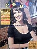 CINEMONDE [No 1372] du 22/11/1960 - CLARK GABLE - MARILYN - MICHELE MORGAN....