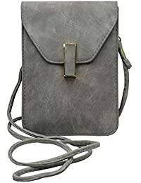 Stylish And Trendy Leather Finishing Sling Bag By Tiny Treasure | Sling Bag For Girls And Women (Grey)
