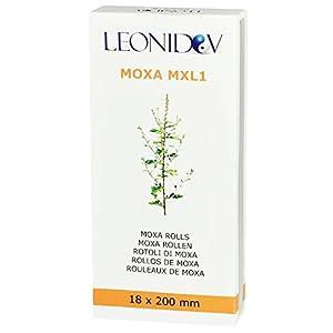 Leonidov Moxa-Rollen (Moxa-Zigarren) aus Beifuß hoher Qualität für die Moxibustion – 10 Stück