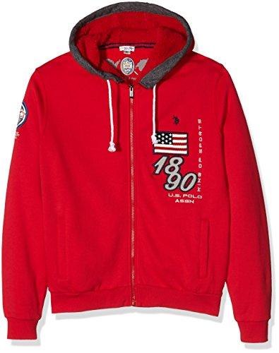 uspolo-assn-1893-hoody-fleece-sweatshit-a-capuche-sportswear-homme-rouge-xl