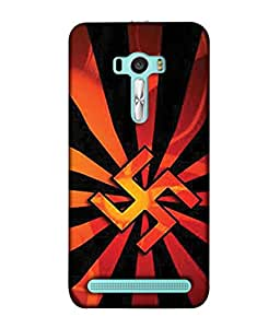PrintVisa Designer Back Case Cover for Asus Zenfone 2 Laser ZE601KL (6 Inches) (Divine symbol god Lucky great looking)