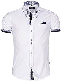 Carisma - Chemisette fashion homme Carisma 9-068 Blanc
