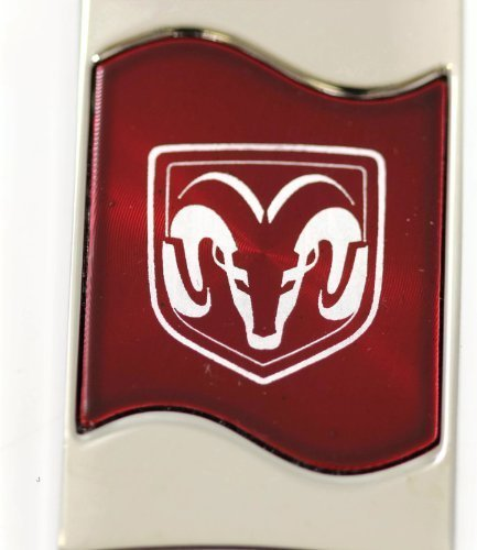 dantegts-dodge-ram-logotipo-de-cabeza-rectangular-wave-logo-rojo-etiqueta-llavero-clave-cadena-clave