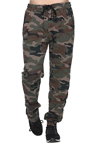 Harbor N Bay Men's Camouflage/Military/Army Print Track Pant(OS-318-L, Large)  available at amazon for Rs.449