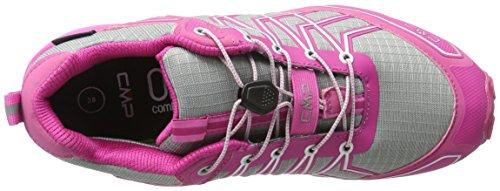 CMP 3Q48166 - Scarpe da Trail Running Donna Multicolore (Silver-Geranio 602Q)