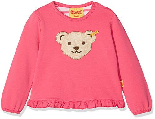 Steiff Steiff Baby-Mädchen Sweatshirt 1/1 Arm, (Fruit Dove|Pink 2203), 62