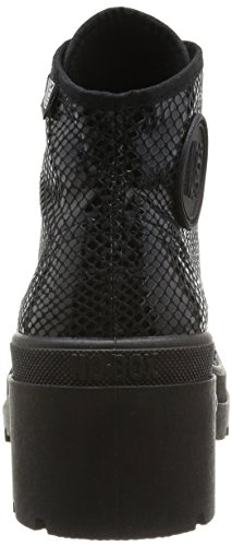 No Box - Galia, Pantofole da Donna Nero (Schwarz - Noir (Snake Black))
