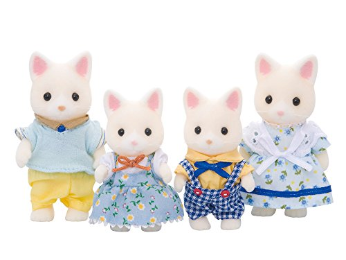 Sylvanian Families 4175 Seidenkatzen Familie Seidenthal, Puppenfamilie