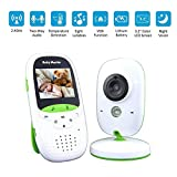 BABY MONITOR ZLMI Babyphone Tragbare Temperaturüberwachung Wireless Voice Intercom Babypflegegerät Mehrsprachige Kamera Integrierte Anzeige für Musik 3.2lcd