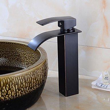 LISABOBO ® Décoration artistique/Rétro Pull-out / Pull-down Débit Normal Grand / Haut Arc Vasque Soupape céramique Bronze huilé , Robinet de Cuisine
