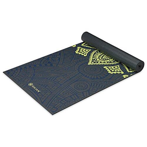 Gaiam–Alfombrillas para yoga impresión premium , Gaiam, Sundial...