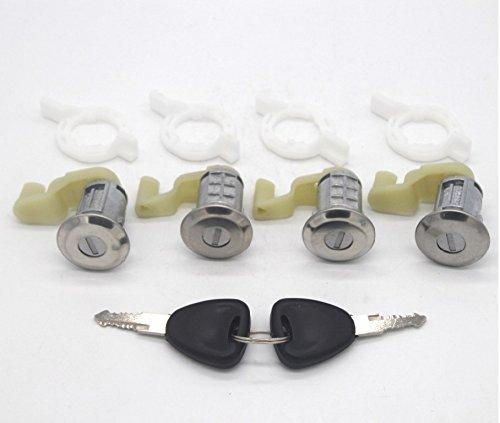 58290eb24 Kit Cerradura 4 barillets Renault Megane Scenic Clio 2 Master Thalia Opel  Movano 7701472806 + 2