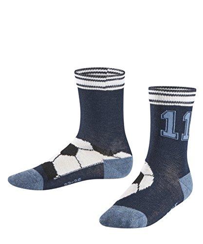 FALKE Soccer Kinder Socken marine (6121) 23-26 aus hautschmeichelnder Baumwolle