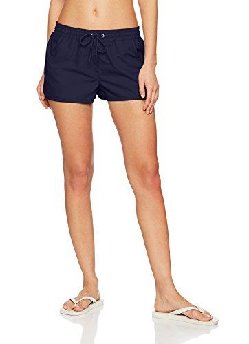 ESPRIT Bodywear Damen Badeshorts Havana Beach Acc Woven Short, Blau (Navy 400), S