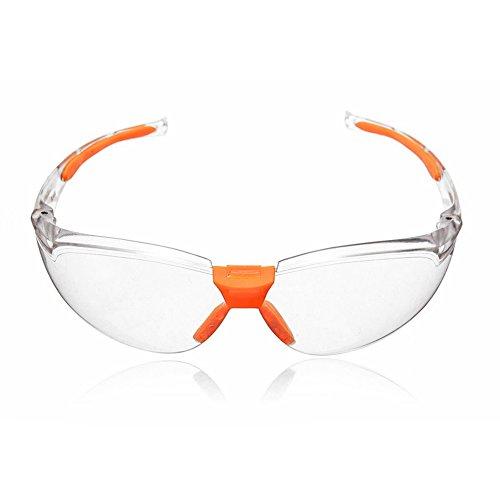 Jiamins Augenschutz-Anti-Nebel-Klare schützende Sicherheitsgläser für Laborarbeit im Freien -