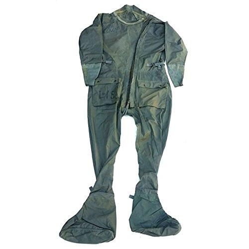 Fliegeranzug US oliv Schutzanzug Gummianzug Taucheranzug Anti-G CWU16 Anzug L/XL