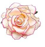LK.8871 1PCS Mode Pullover Jacke Dekorative Brosche Vintage Brosche( Pinke Rose )