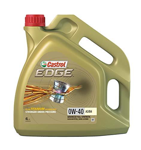 Castrol EDGE 0W-40 Olio motore 4L