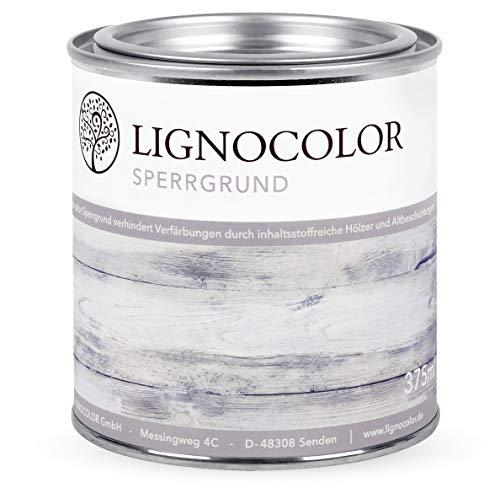 Lignocolor Sperrgrund auf Wasserbasis Isoliergrund Kreidefarbe 375ml