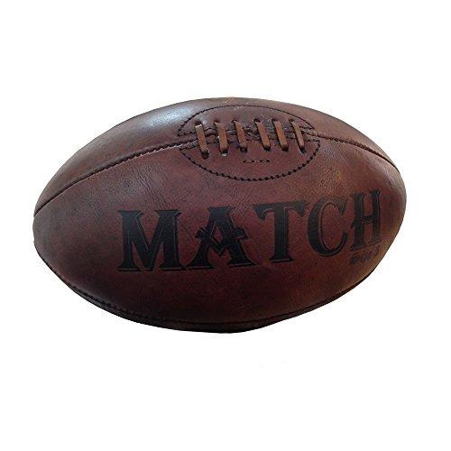 Ram Rugby Balón de Rugby de piel Vintage–regalo, trofeo, presentación pelota
