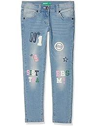 b2cc3a6c15 United Colors of Benetton Mädchen Hose Trousers