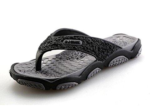GLTER Uomini Infradito Scarpe Da Spiaggia Sandali Traspiranti Estate Nuovo Pantofole Modella I Pattini Della Piscina Grey