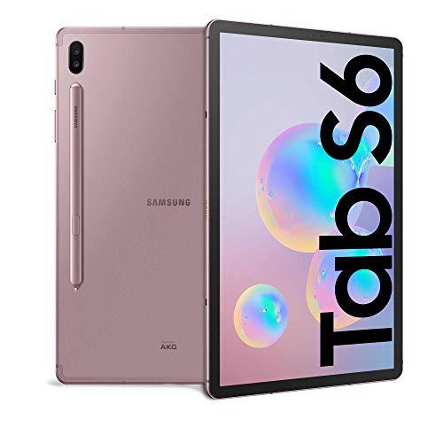 samsung galaxy tab s6 (2019) tablet, display 10.5 superamoled, 128 gb espandibili, ram 6 gb, batteria 7040 mah, wifi, android 9 pie, brown [versione italiana]