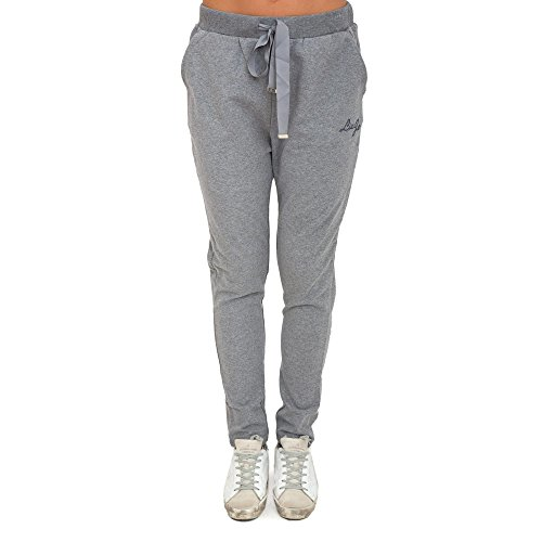 <U+FEFF>Pantalone tuta LIU JO Donna T66106 F0598)2060 Grigio IG198T66106-F05982060, Grey, Large