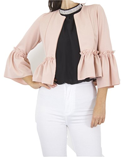 7 Fashion Road - Chaqueta - Blazer - para Mujer Rosa Rosa 42