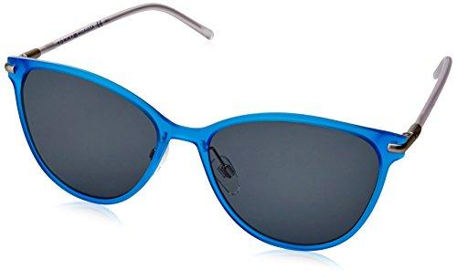 Tommy hilfiger th 1397/s nl, occhiali da sole unisex-adulto, nero (blue crystal), 56