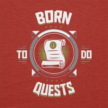 Texlab–Born To Do quests–sacchetto di stoffa Rot