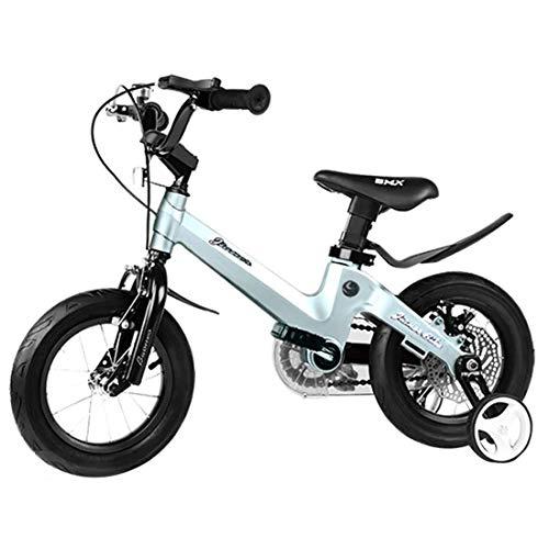 Kinderfahrrad Boy Bikes 2-8 Jahre altes Kind des Kindes Geschenk Magnesium-Legierungsmaterial Fahrrad for Kinder (Color : Bronze, Size : 12inch)
