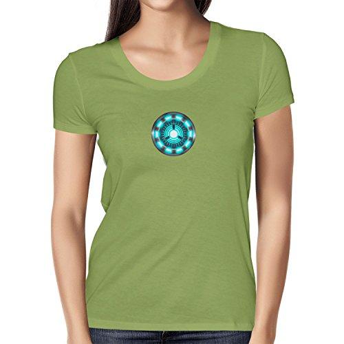 TEXLAB - Arc Reactor - T-shirt da donna Kiwi