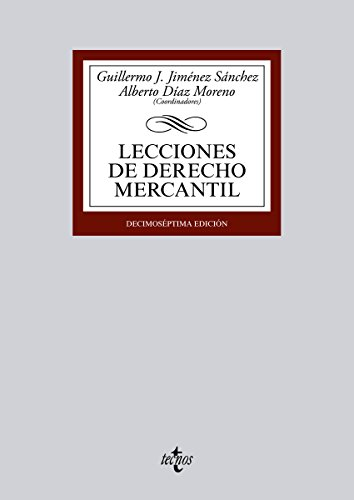 Lecciones de Derecho Mercantil (Derecho - Biblioteca Universitaria De Editorial Tecnos)