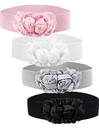 prezzo all'ingrosso sconto più votato buona qualità Amazon.it: Cintura fascia con fiori - Donna: Abbigliamento