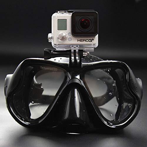 Dailyinshop Unterwasserkamera Anti Fog Tauchmaske Schnorchel Schwimmbrille für GoPro