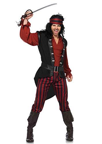 Leg Avenue Herren Piraten Kostüm Pillaging Pirate M/L