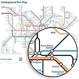 Underground Film Map Poster