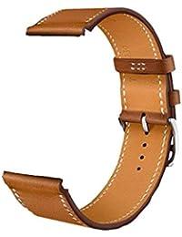 Correa De Banda De Verdadera De Reloj Cuero Genuino Para El Reloj De Manzana (42 Mm) De Color Marrón IWatch