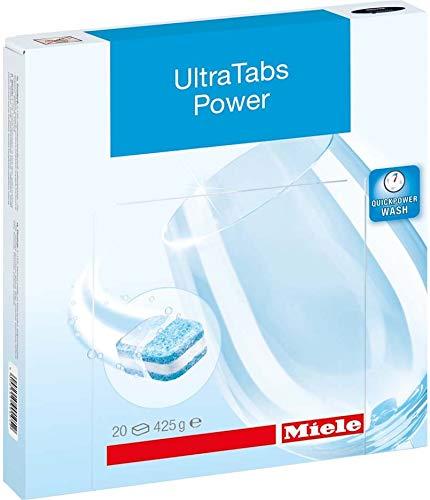 Miele&CIE Ultra Tabs Power 10744450 (VE20) Zubehör für Geschirrspüler, Wasch- und Trockengerät...